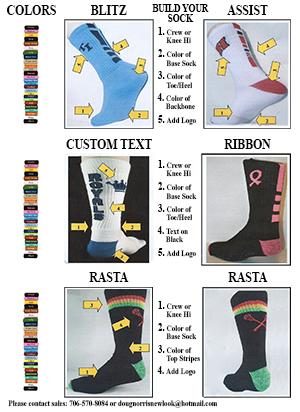 Sock Design Info
